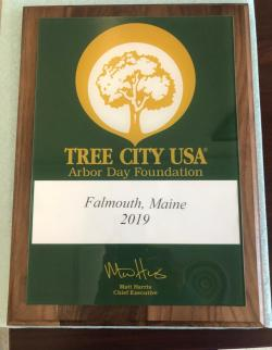 Tree City USA Plaque
