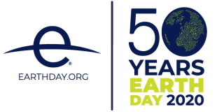 Earth Day 50th Anniversary Logo